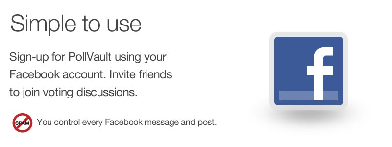 Sign-in with your Facebook account.