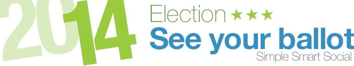 See your ballot for the 2014 Primary Election. Simple, smart, social.