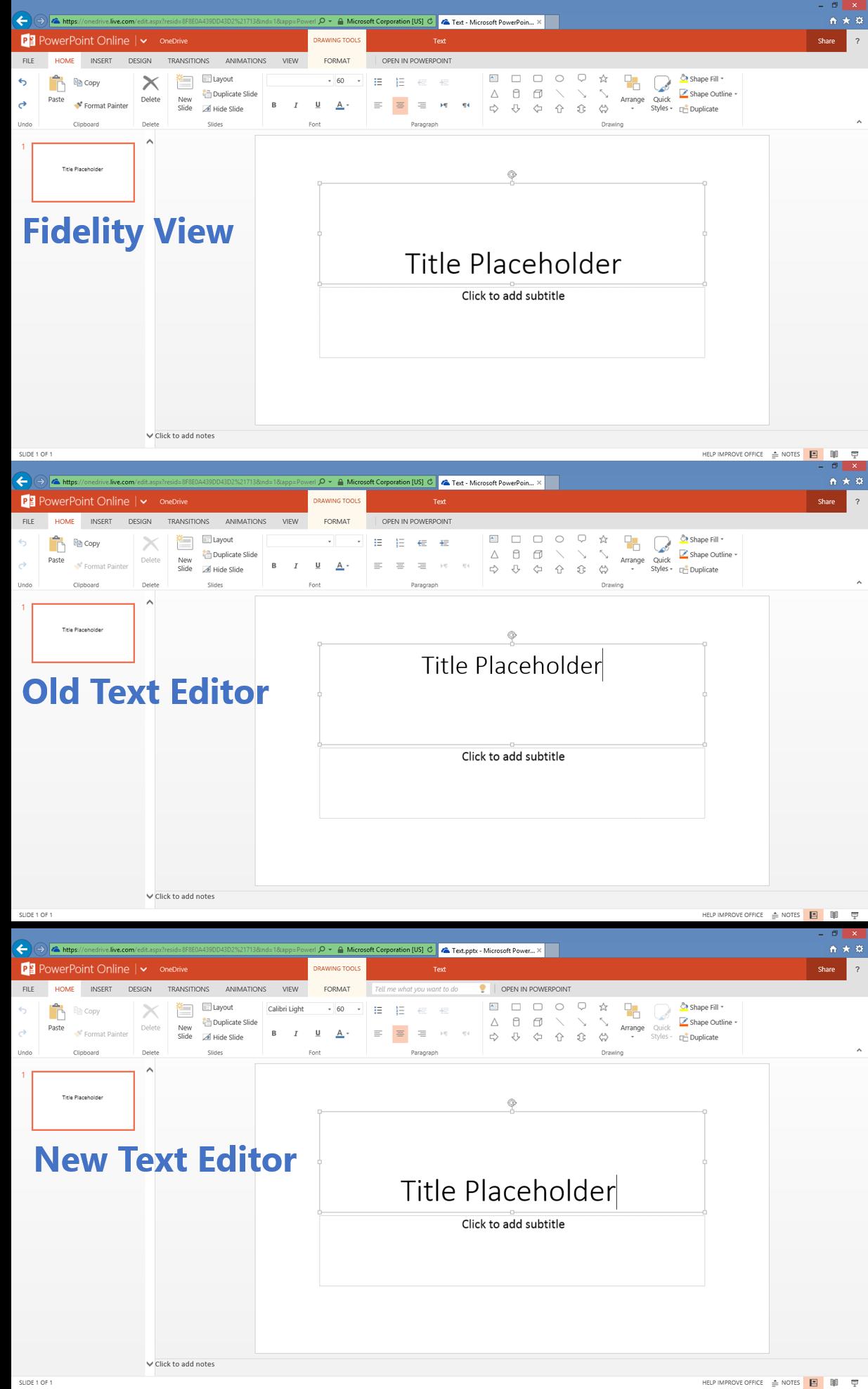 powerpoint online improved text editor angellist