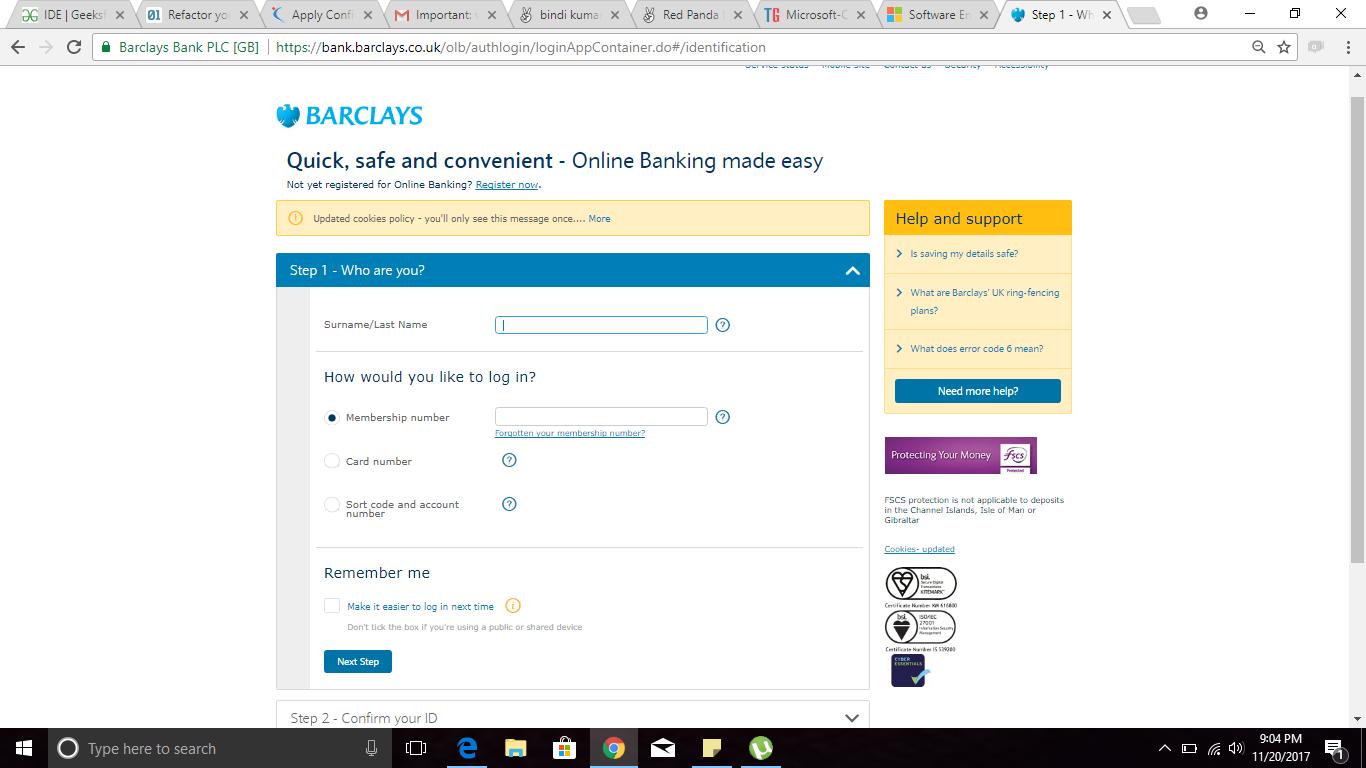retail online banking project | AngelList