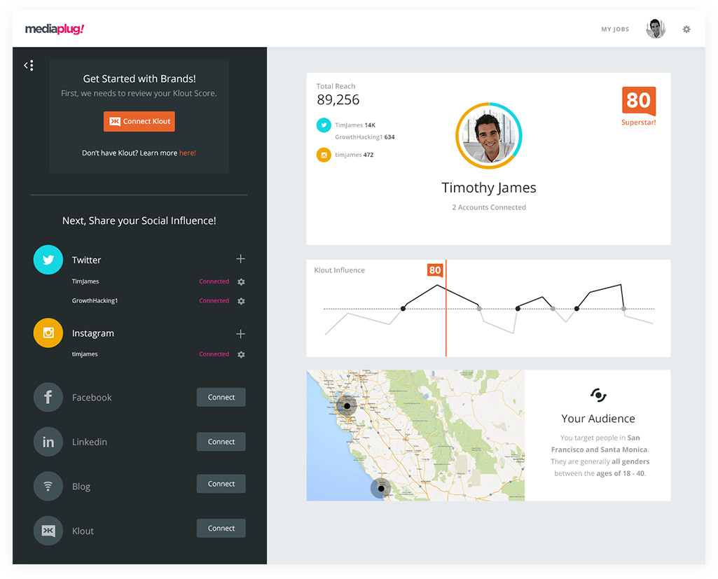 Mediaplug web application ui ux design angellist for Room design web app