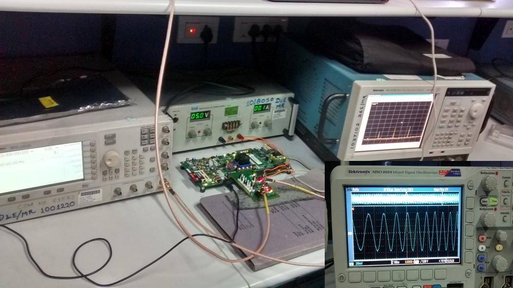 Generation of Radar Waveform Based on DDS using FPGA and DAC | AngelList