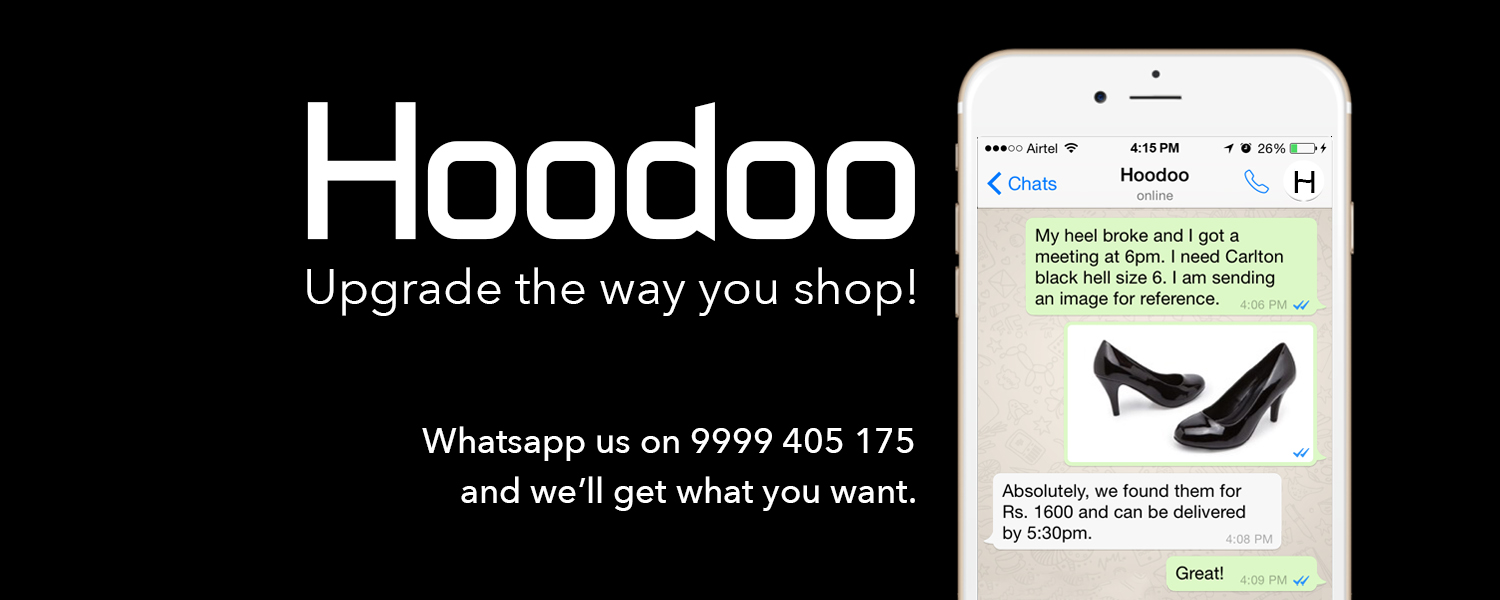 Hoodoo-Your personal shopping app.