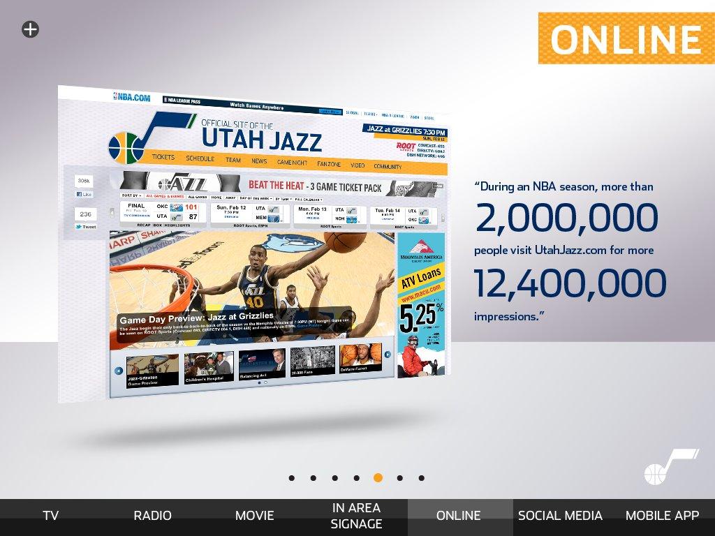 utah jazz website