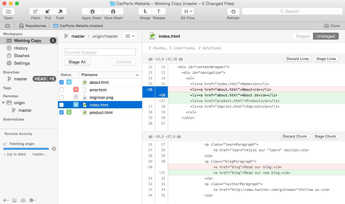 Tower 2: Git Client for Mac | AngelList