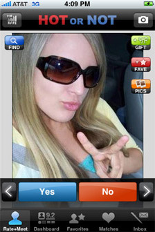HOT or NOT iPhone App