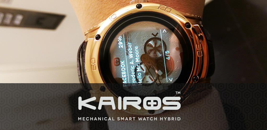 Kairos Hybrid (Analog/Digital) Smartwatch