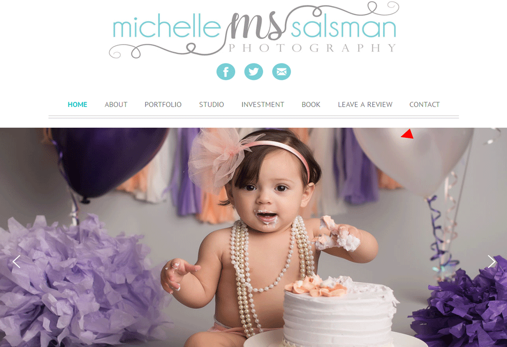 Custom PHP Web Development Services for Michelle Salsman