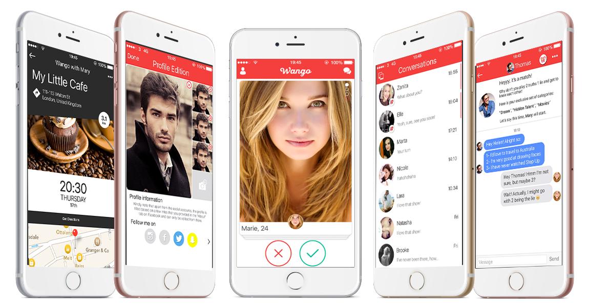 Dating app framework