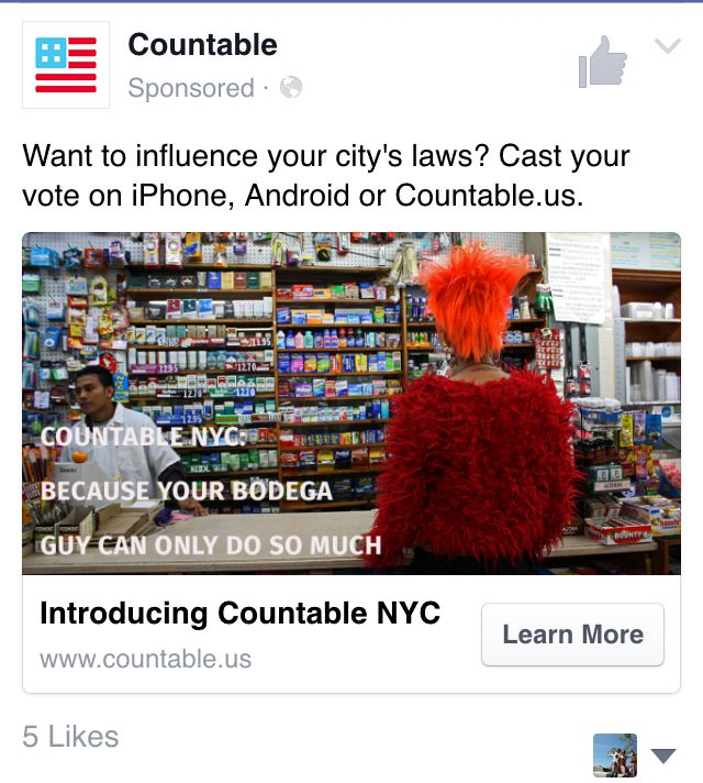 Countable - Local Legislation Marketing Campaigns