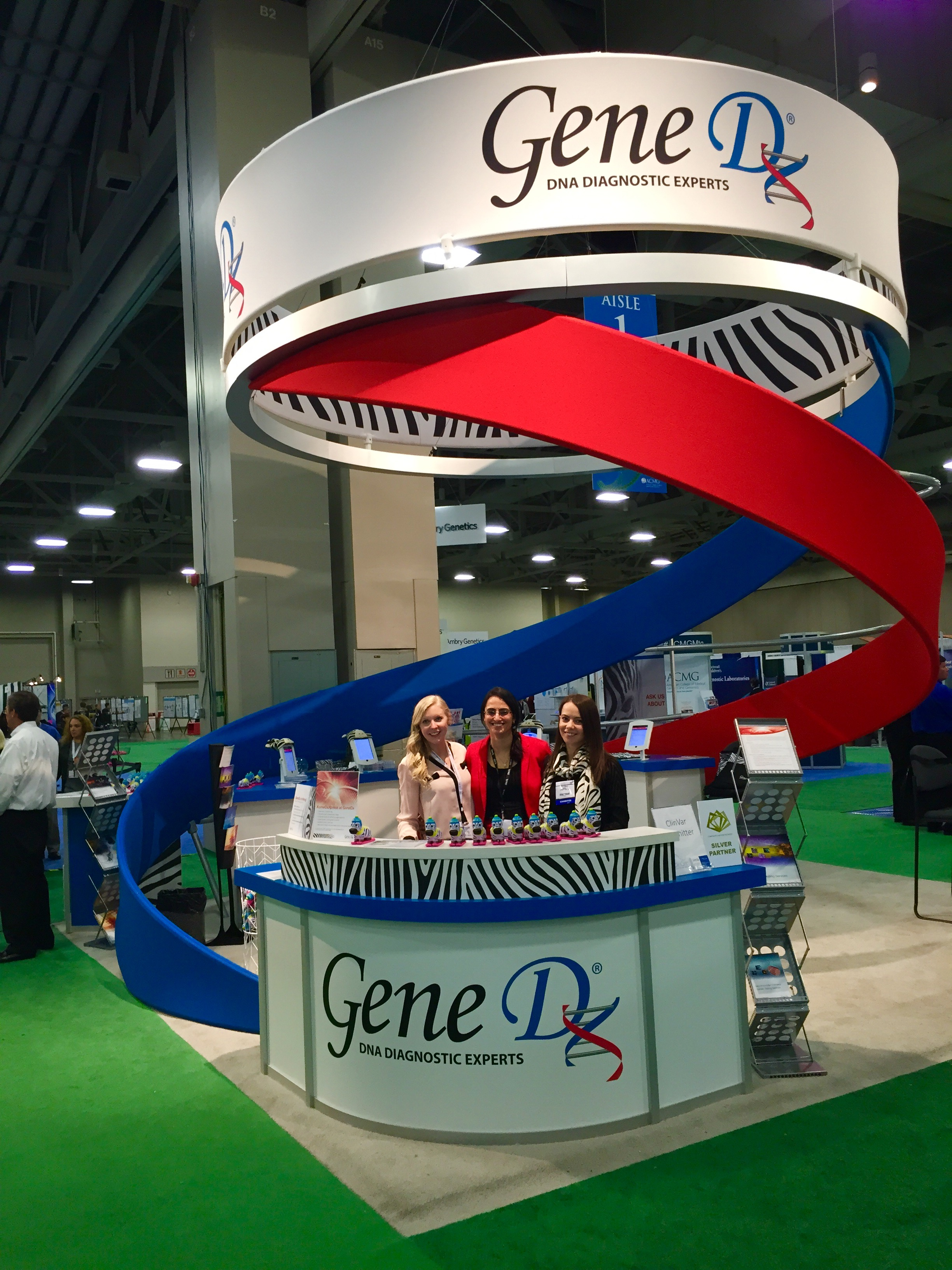 Designed 20'x 20' booth for our largest national trade shows