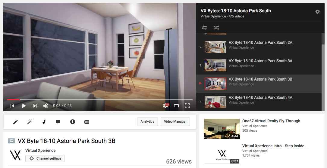 Townhouse Renovation - VR Fly-Through Videos