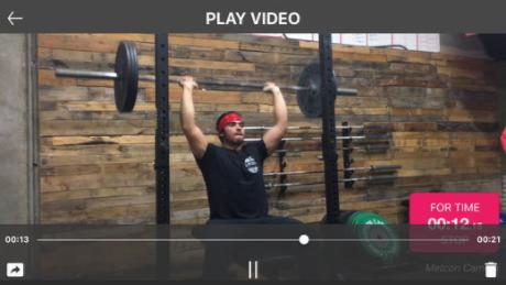 Metcon Camera - iOS Video Editing