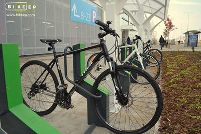 Smart Commercial Bike Racks With Built In Locks Angellist