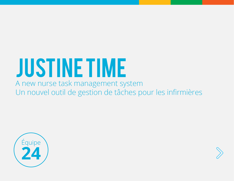 Justine Time - The task management system made for nurses