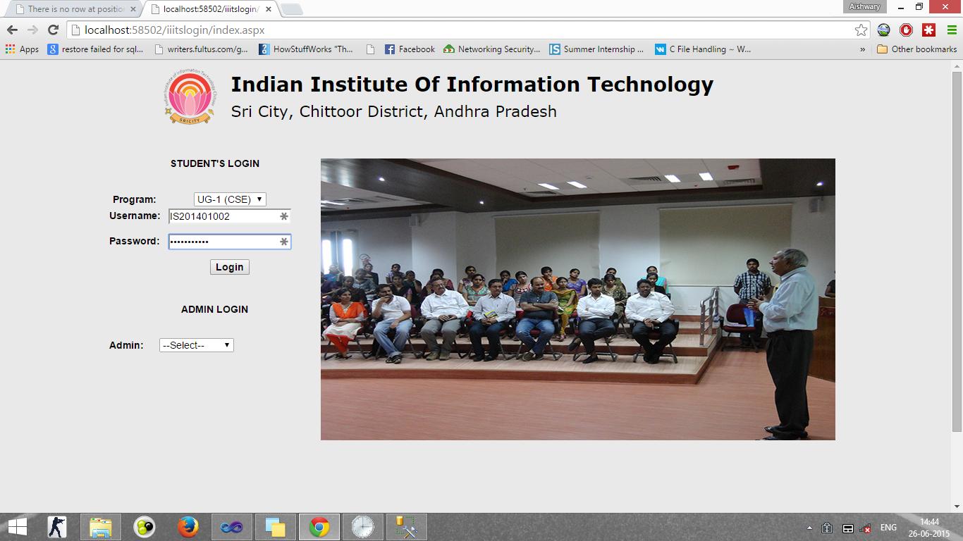 Development of a Fingerprint Biometric Based Classroom Attendance