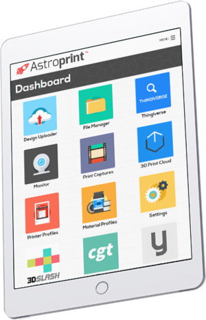 AstroPrint Mobile - The FIRST EVER mobile app for cloud-based 3D