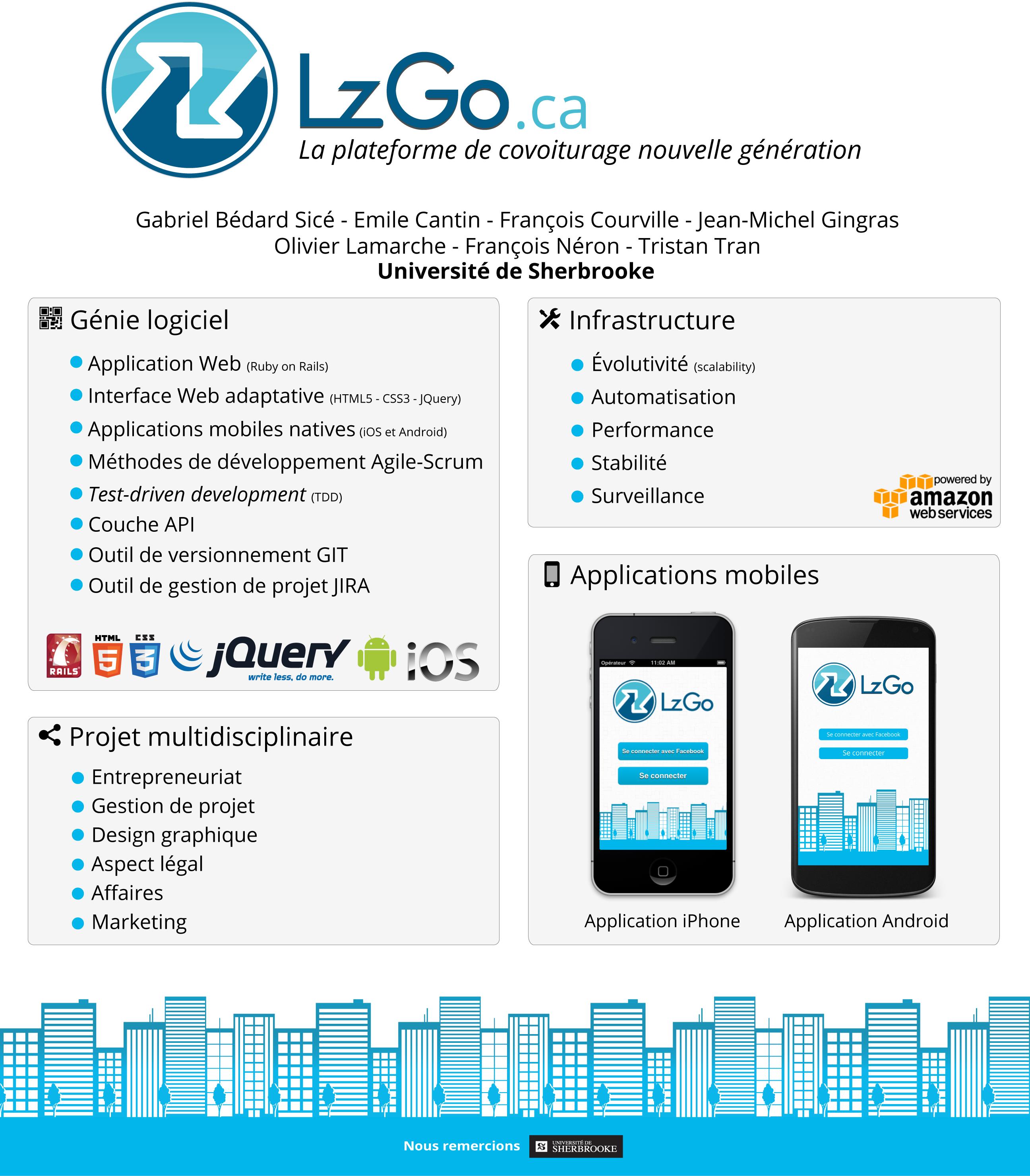 LzGo.ca - The next generation ride sharing platform