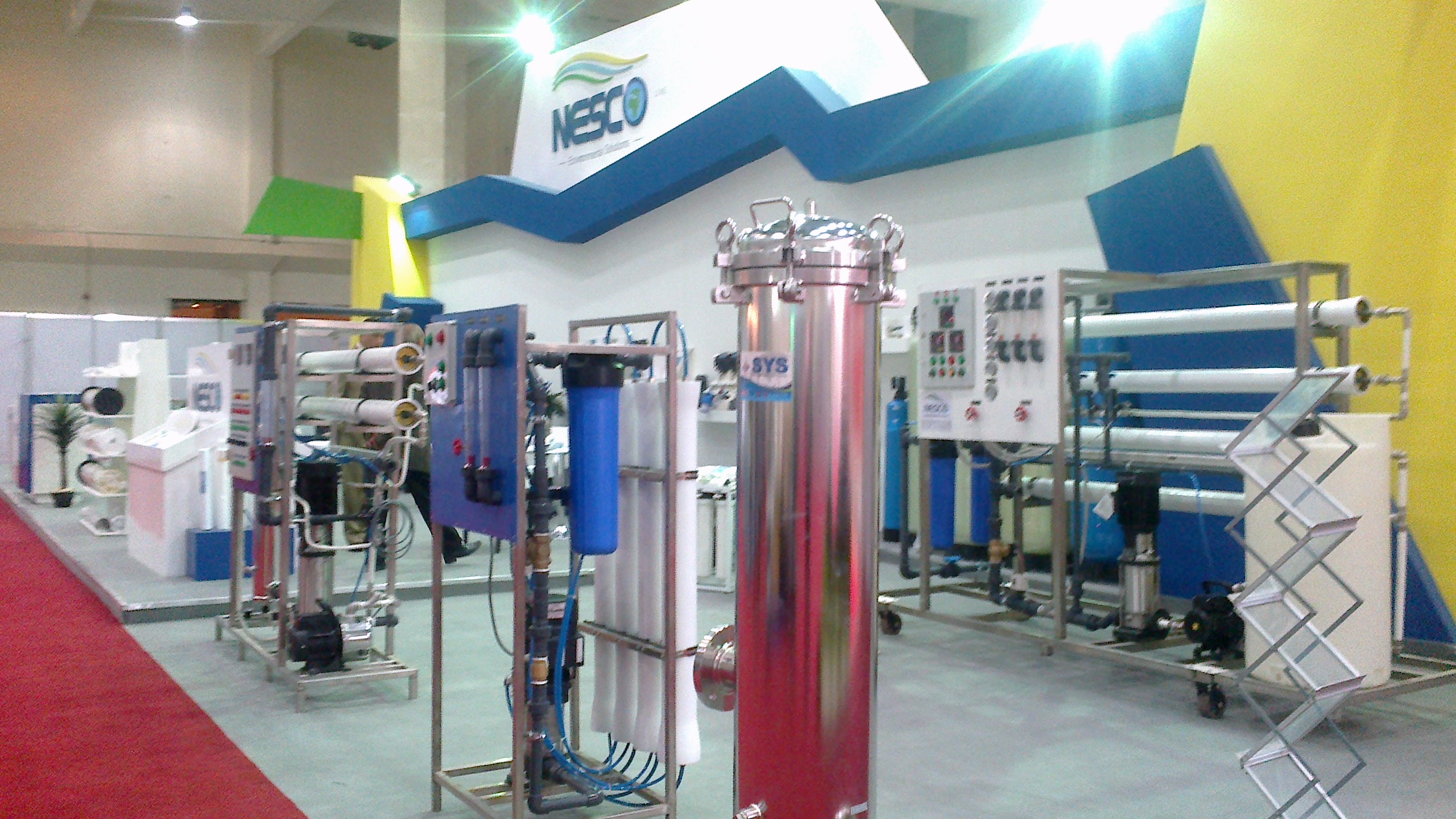water treatment and desalination Sea water and brackishwater