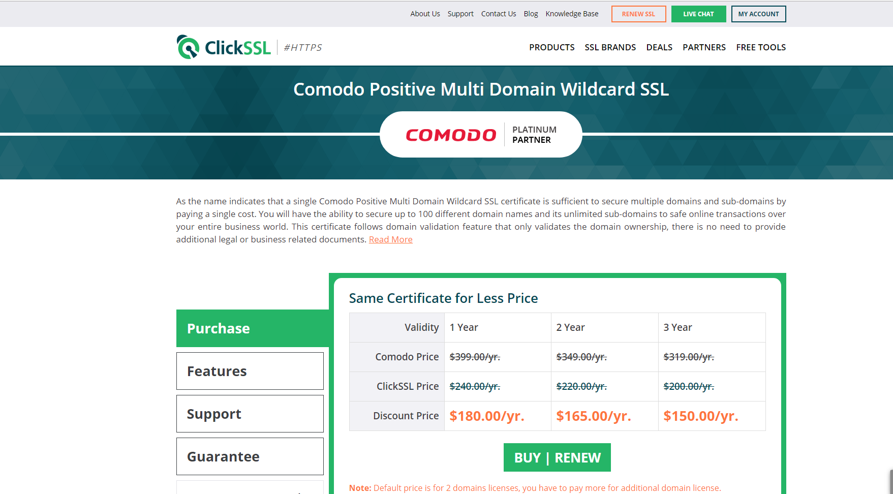 Comodo Positive Multi Domain Wildcard Ssl Certificate Angellist