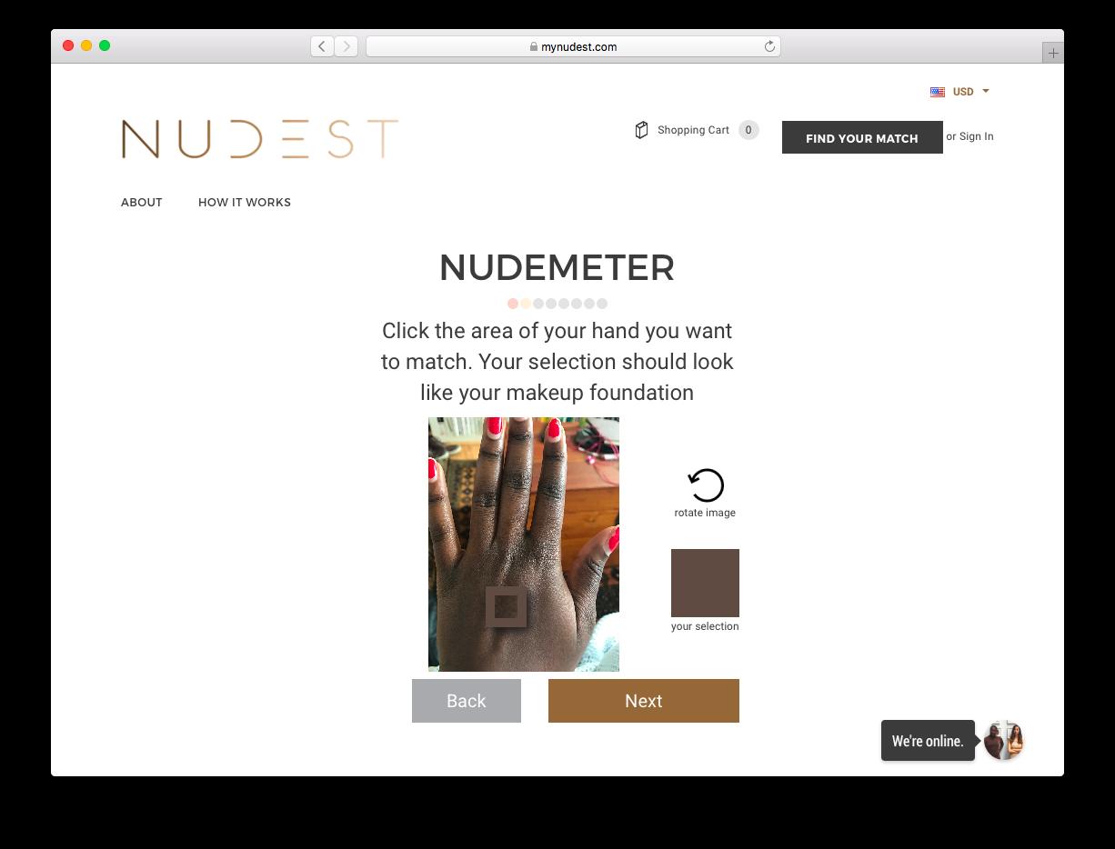 NUDEMETER at MyNudest.com