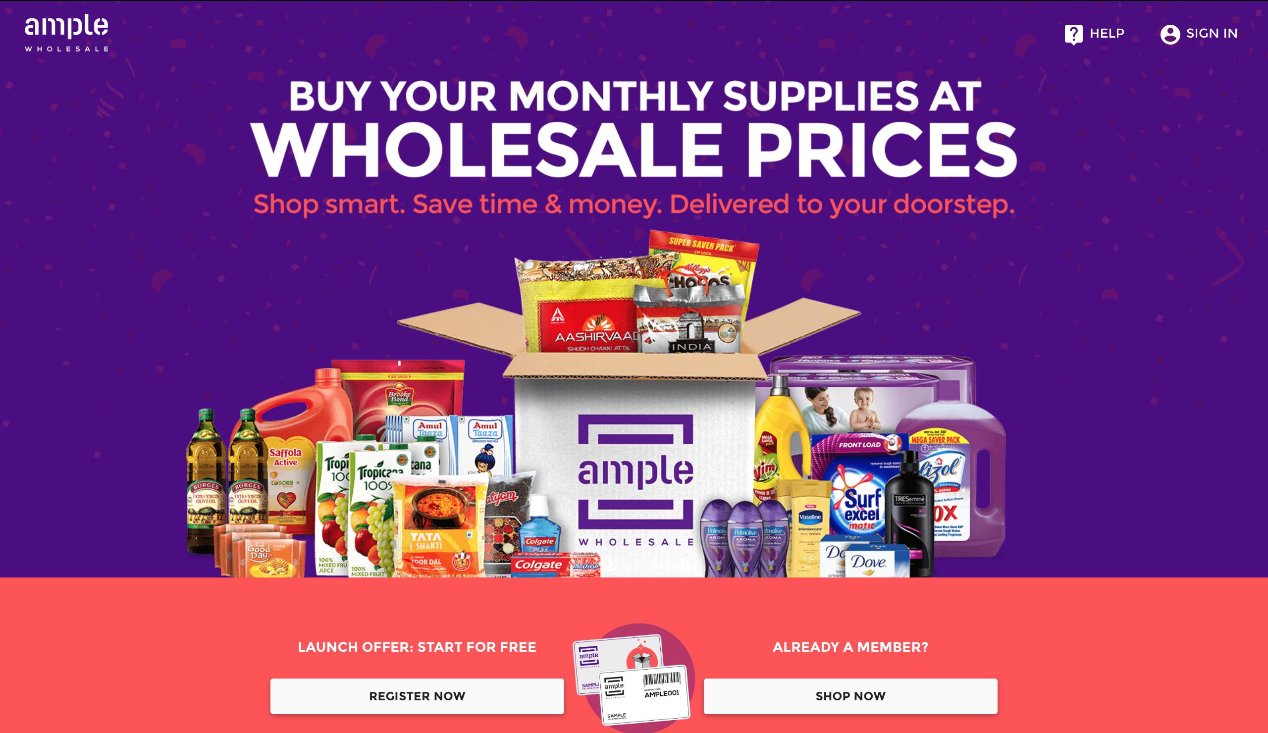 Ample - India s 1st Wholesale Price Club - AngelList 15ea0580edb8