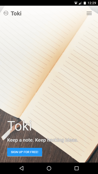 Toki - Keep a Note