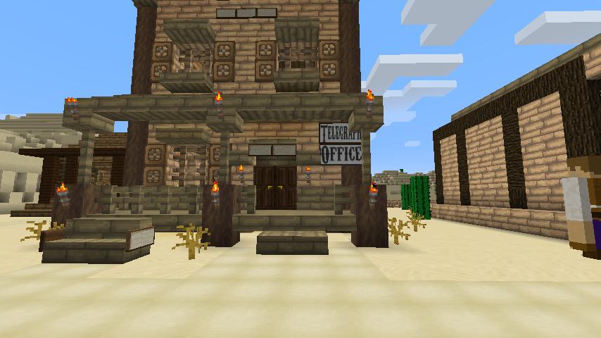 Minecraft Western Town...