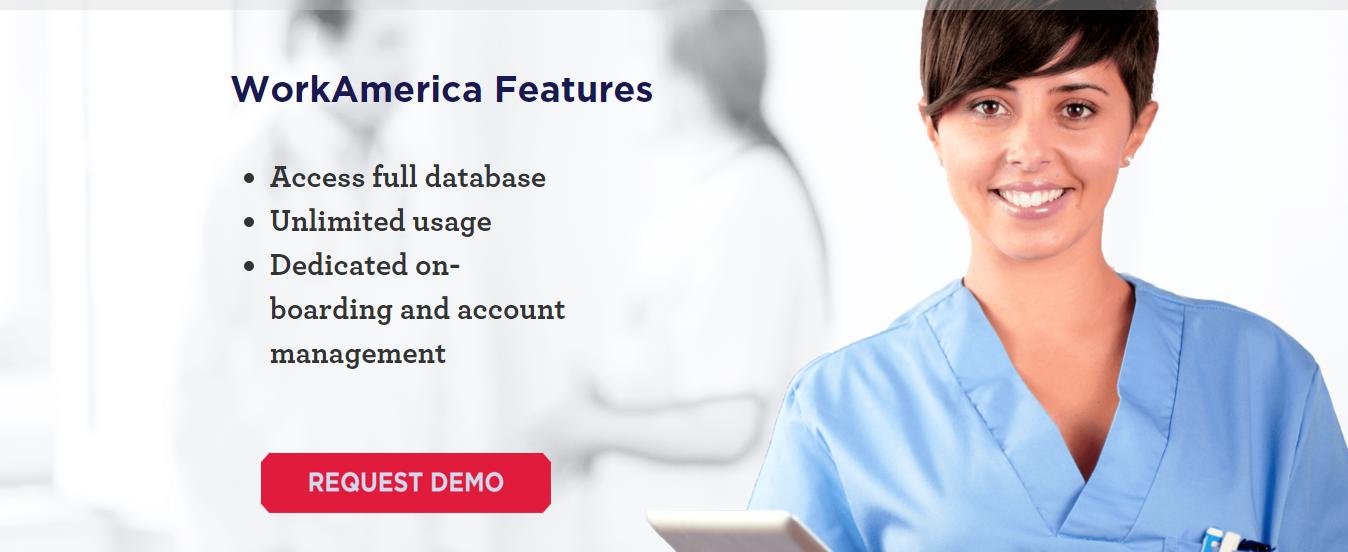 WorkAmerica Online Recruiting Platform