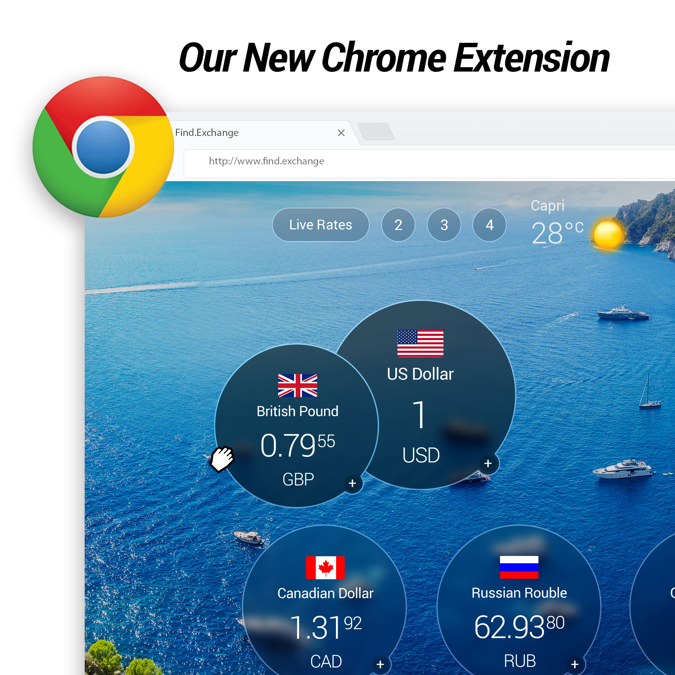 Find.Exchange Currency Converter - Chrome Extension