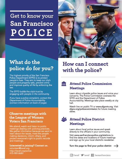 LWV San Francisco Policing Practices