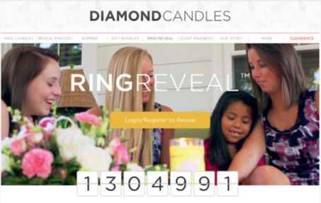 Diamond Candle's Ring Reveal by Diamond Candles