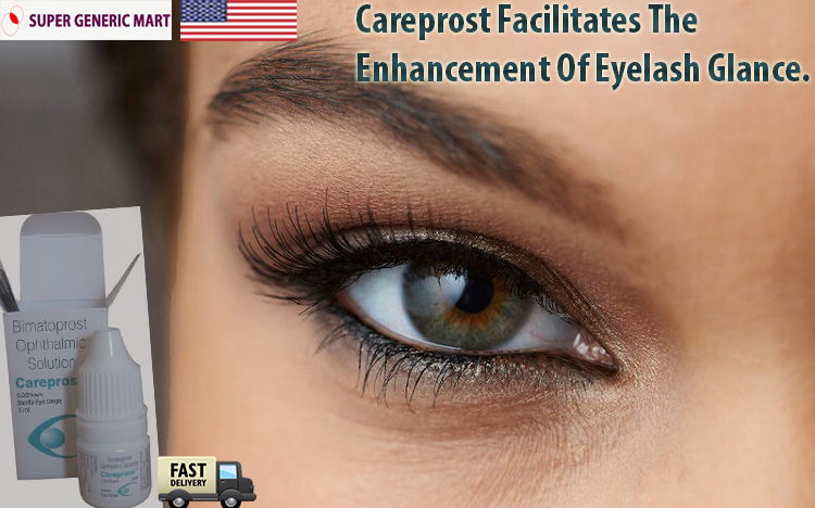 Achieve Sumptuous Eyelashes With The Use Of Careprost Eye Drops