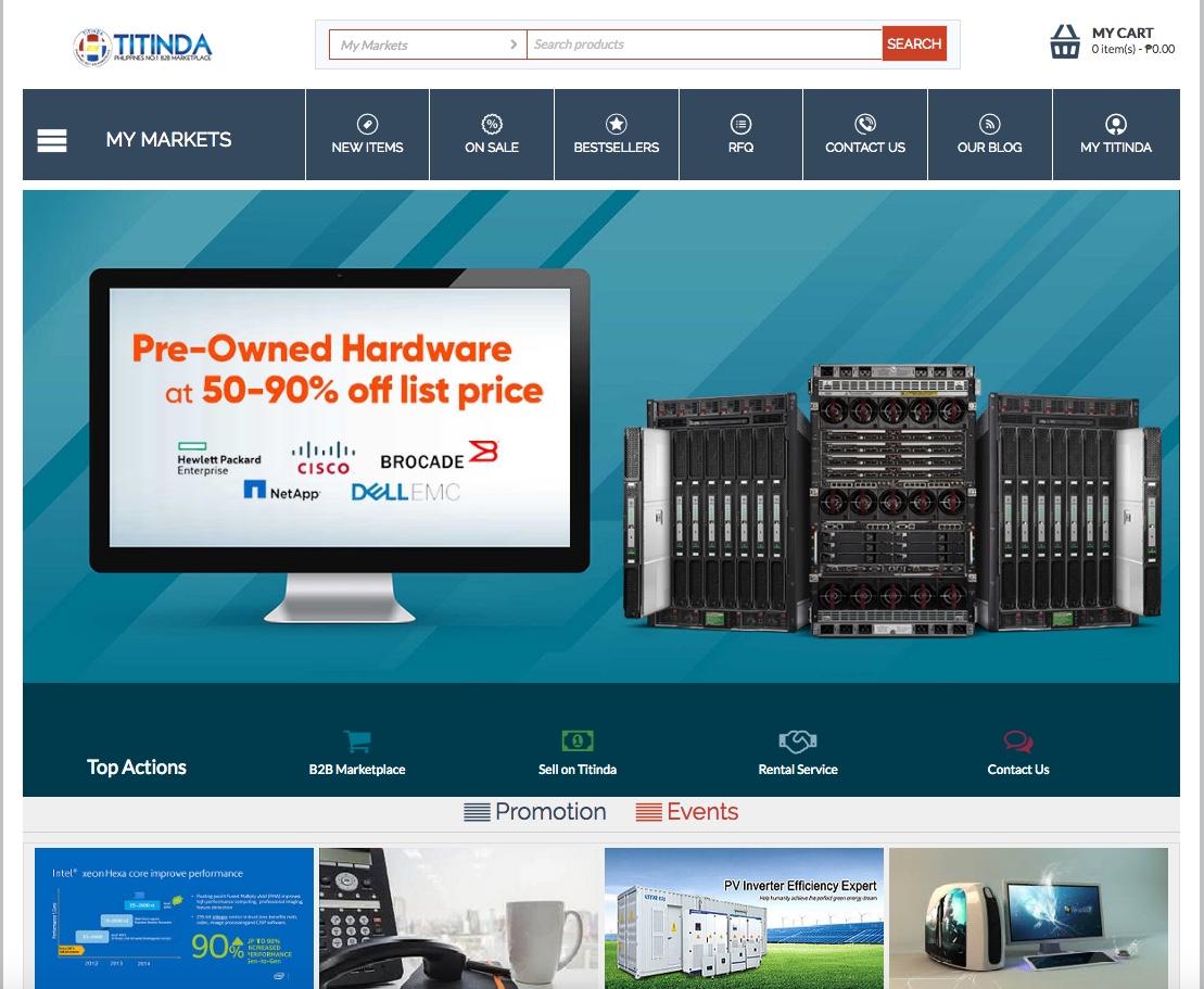 TiTINDA-Philippines No 1 B2B Marketplace For Electronics