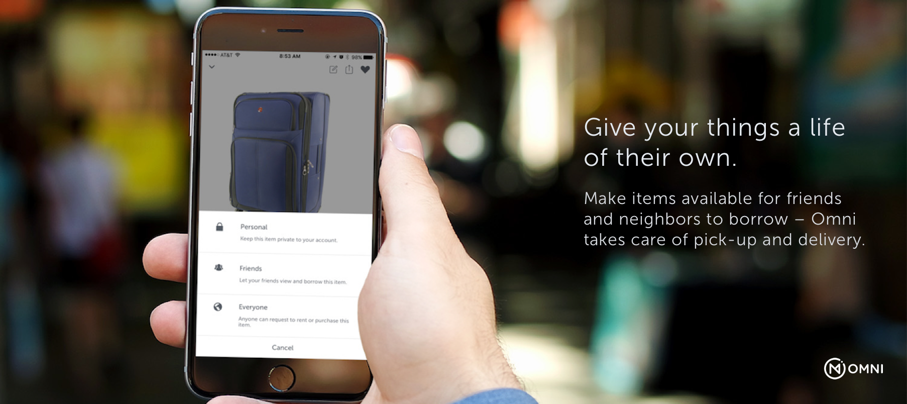 Search & Share Items with Omni