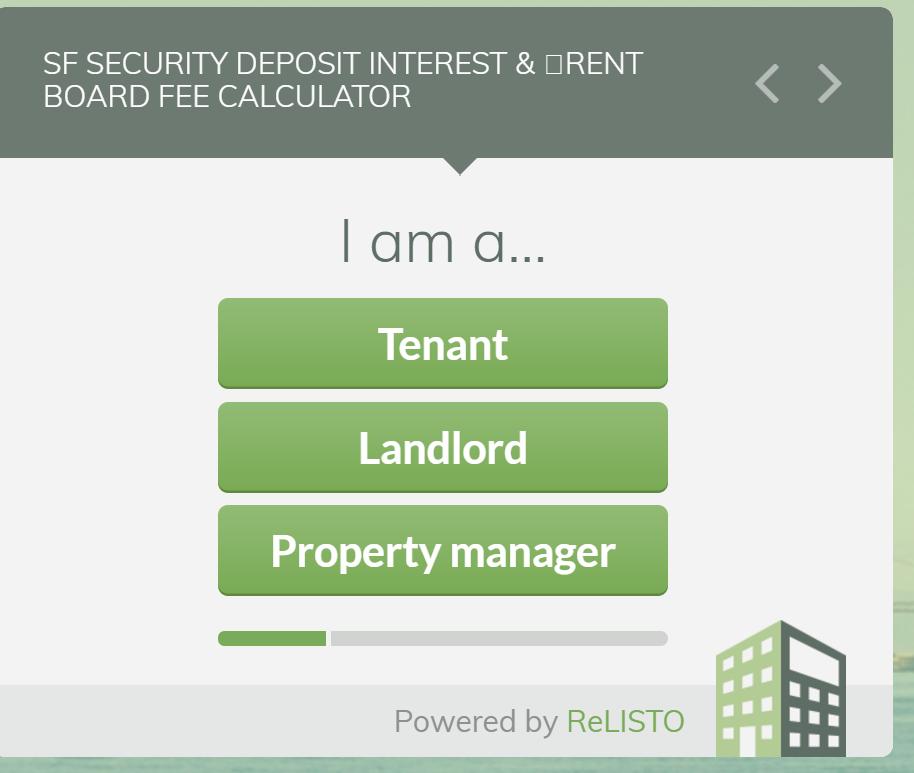 Rental Companies San Francisco: San Francisco Security Deposit And Rent Board Fee