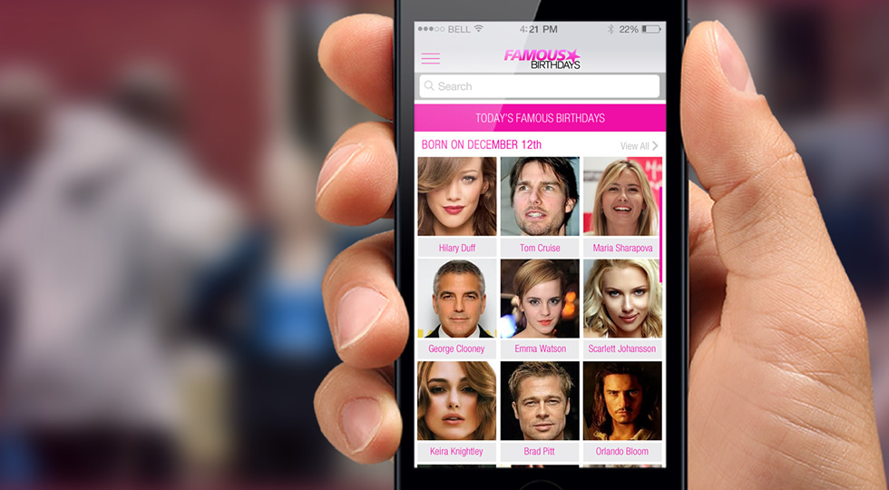 Famous Birthdays: The simplest and most entertaining way to learn