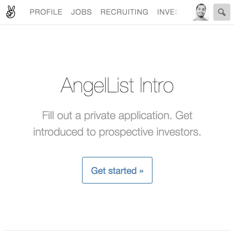 AngelList Intro