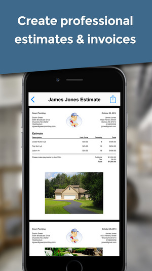 invoice simple ios app