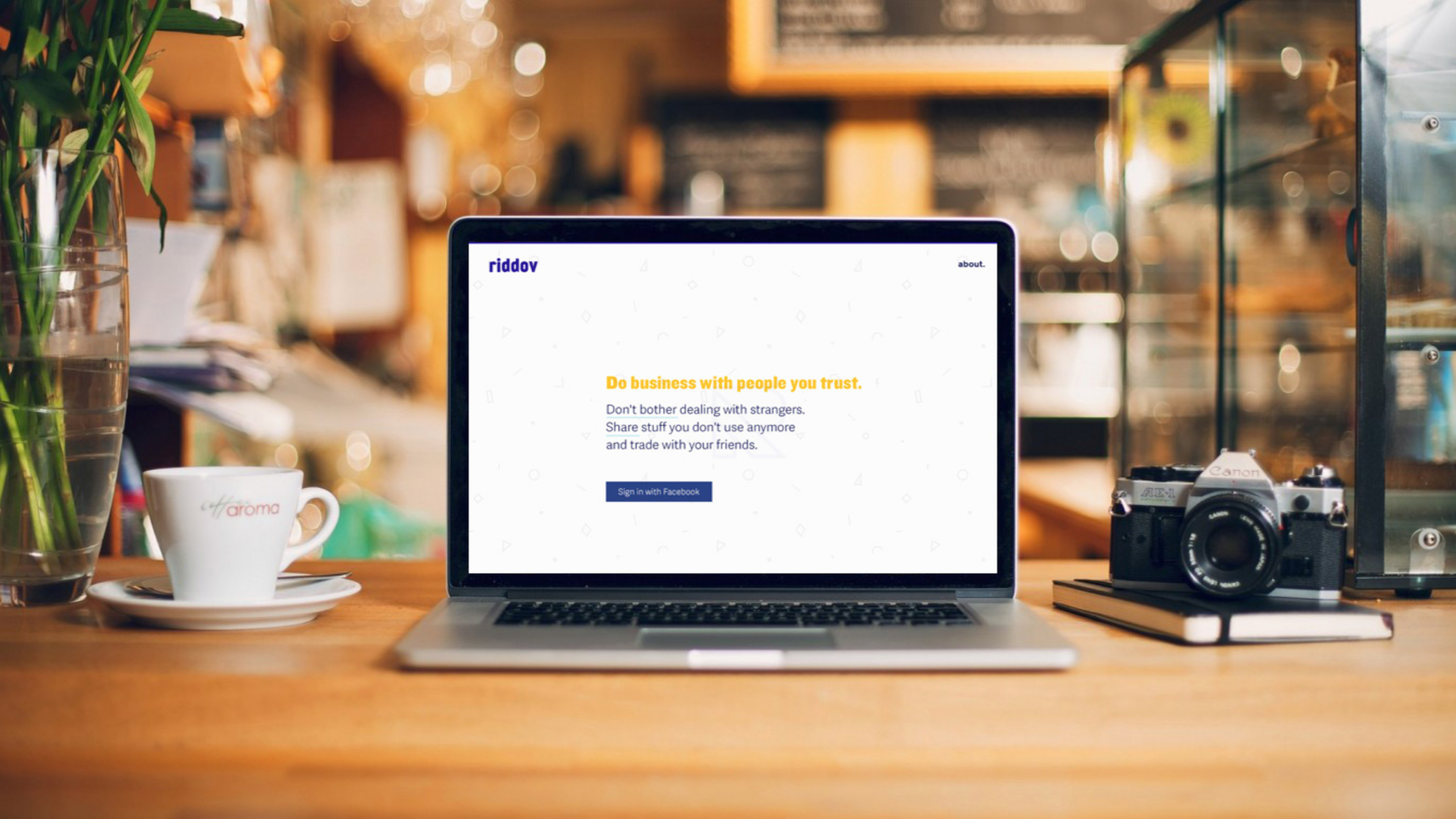 Riddov - Online platform to sell, buy and trade items between friends