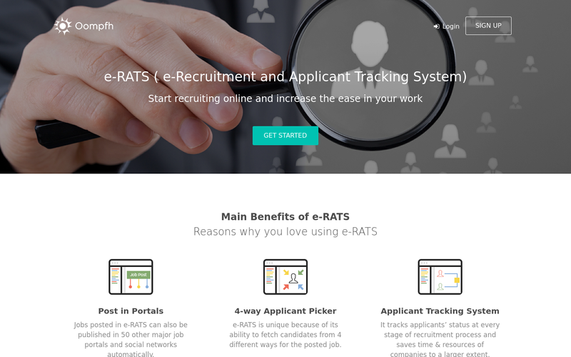 e-Recruitment and Applicant Tracking System | ATS | E-Rats