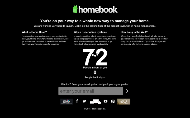 homebookpro com home maintenance management software angellist