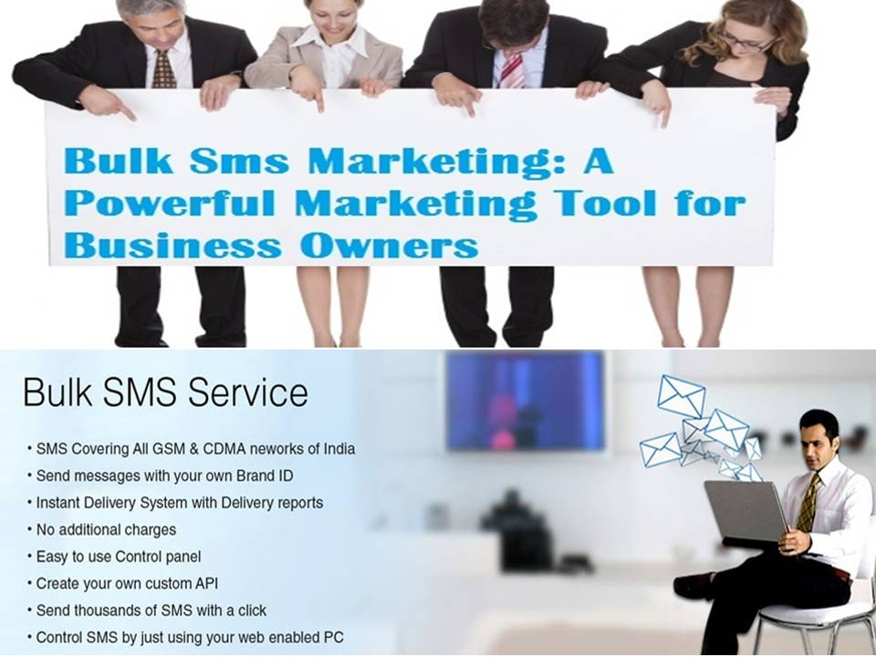 Bulk SMS service or Gateway provider in India - The SMS
