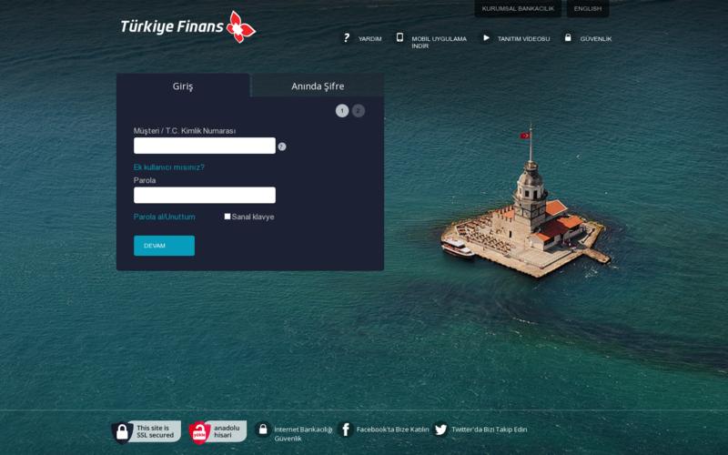 Turkiye Finance Bank - Online Banking Project | AngelList