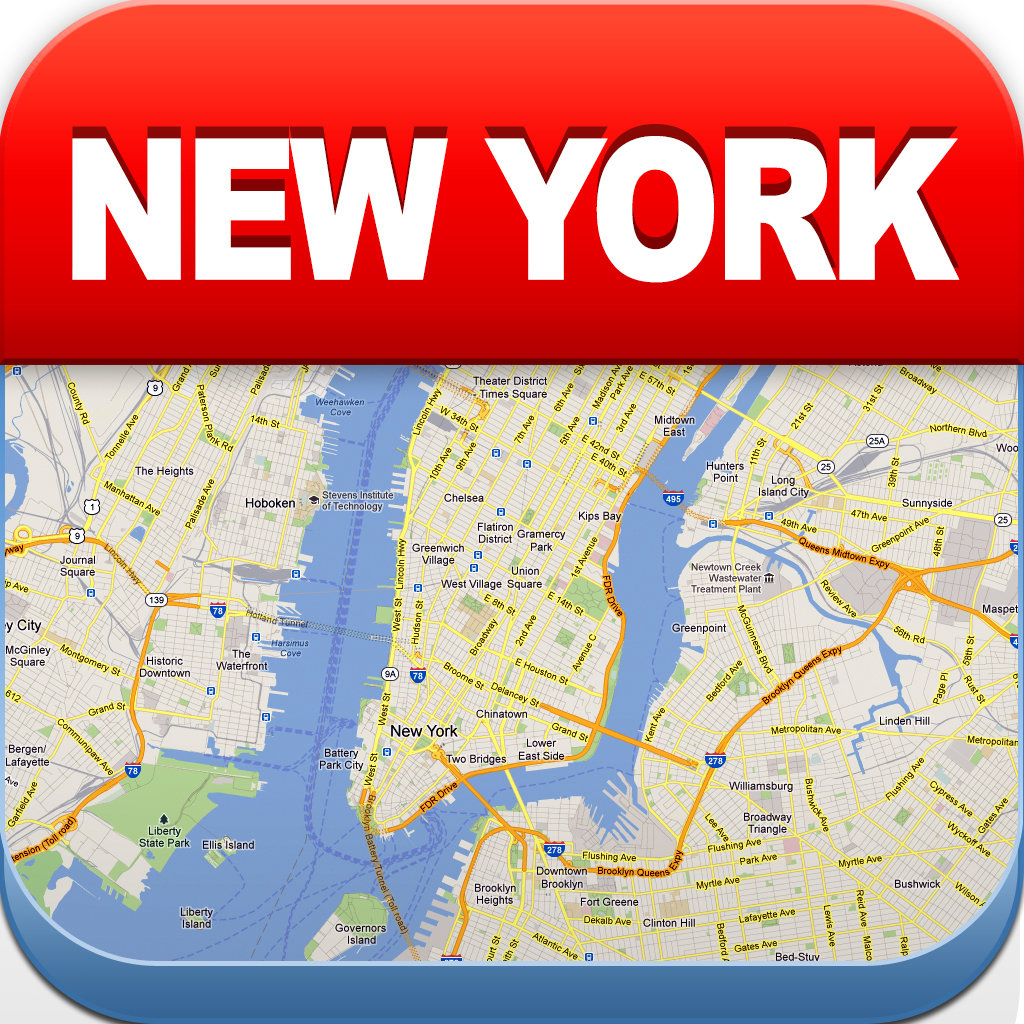 Offline New York Subway Map.New York Offline Map City Metro Airport With Travel Trip Planner