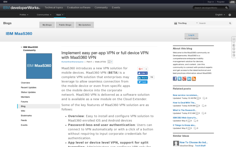 MaaS360 VPN | AngelList
