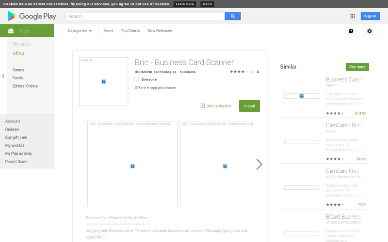 Bric app business card scanner manager angellist bric app business card scanner manager reheart Choice Image