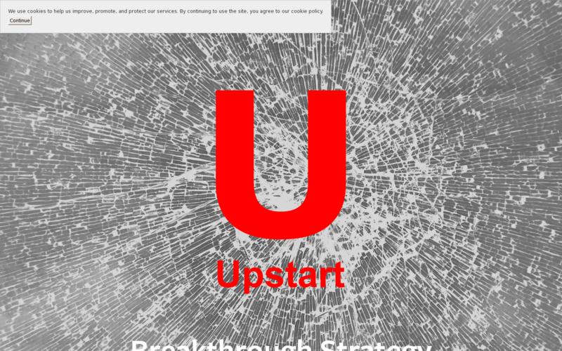 Upstart -Breakthrough Strategy