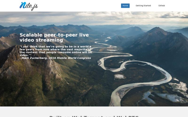Nile.js Website