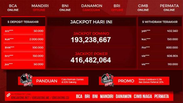 Agen BandarQ Judi Sakong Bandar Poker Domino99 Online IDNSAKONG